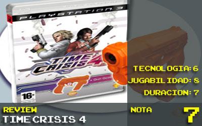 Nota Time Crisis 4: 7