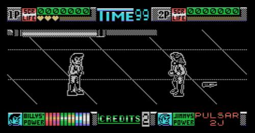 MSX Double Dragon