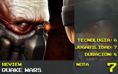 Quake Wars Nota 7