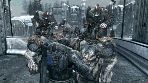 Gears of War 2 Horda