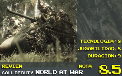 World at War, nota:8.5