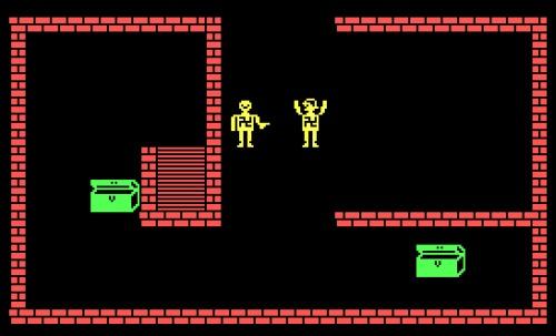 C64: Apuntando de forma amenazadora