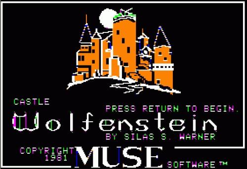 Castle Wolfenstein Apple II