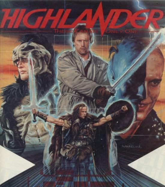 Highlander por Bob Wakelin