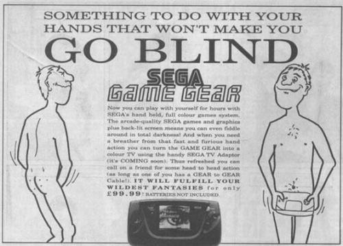 Game Gear no te deja ciego