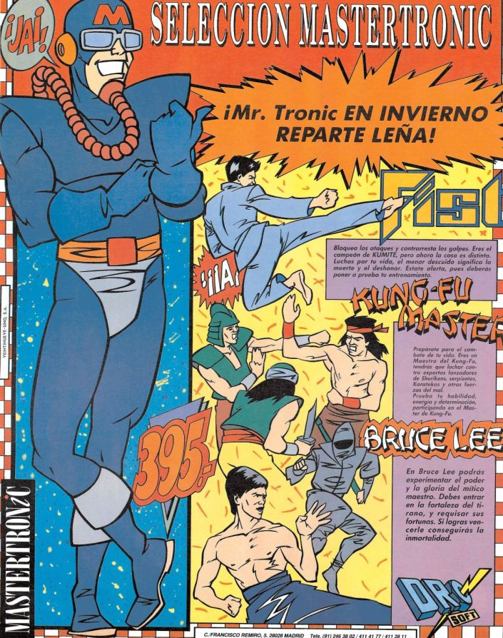 Bruce Lee de MasterTronic
