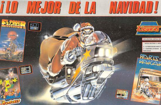 Videojuegos navidad 1988