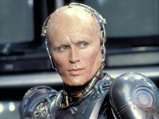 Robocop Weller sin máscara