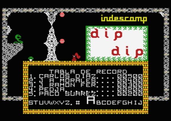 dip dip - high score