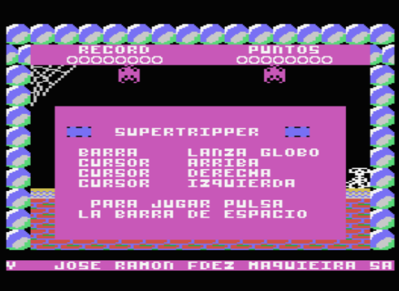 Supertripper de MSX