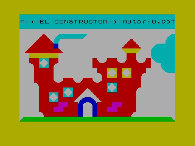 El constructor - Menu