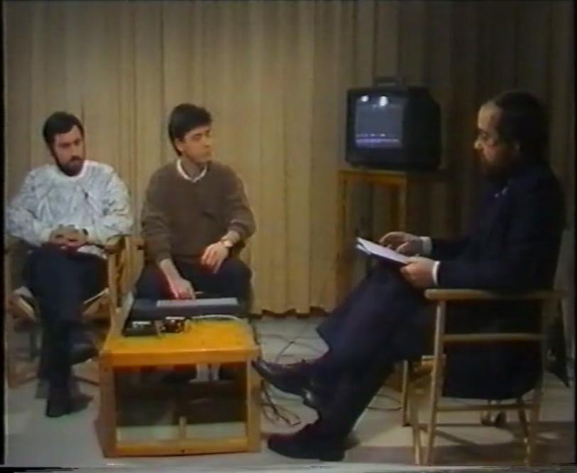 Entrevista TeleCantabria (1987) con Sáiz y Carrera