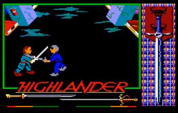 Highlander Amstrad CPC