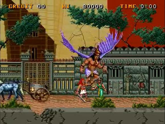 Karnak y el bicho volador